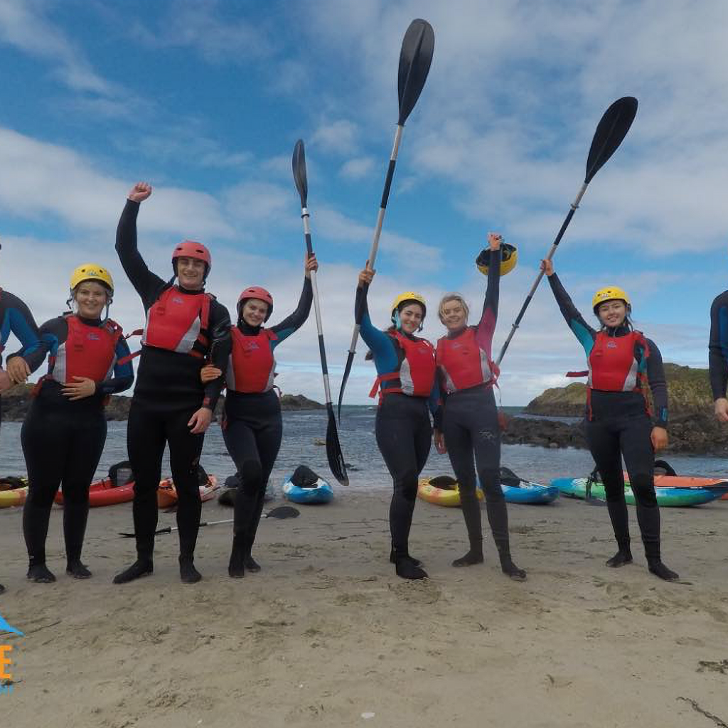 kayak beginners training northern ireland